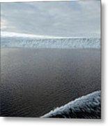 Iceberg And Polinya In The Ross Sea Metal Print