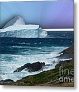 Iceberg Escape Metal Print by Barbara Griffin