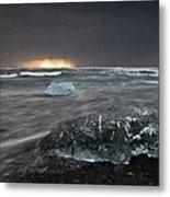 Iceberg Led Us Metal Print