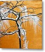 Iced Tree Metal Print