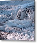 Iced Water Metal Print
