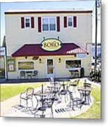 Icehouse Waterfront Restaurant 3 Metal Print
