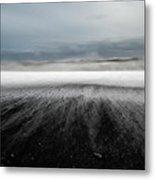 Iceland Vik Metal Print