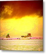 Wanna Live At The Magic Icelandic Countryside, At Least In The Summer  Metal Print