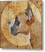 Icon Metal Print by Judy Wood