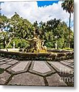 Iconic Fountain Metal Print