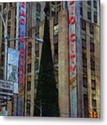 Iconic Radio City Metal Print