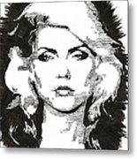 Icons - Blondie Metal Print
