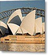 Icons One And Two - Sydney Australia. Metal Print by Geoff Childs