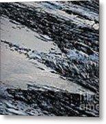 Icy Coast Metal Print by Susan Hernandez