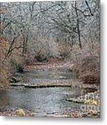 Icy Creek Metal Print