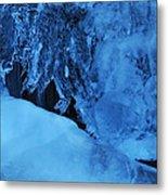 Icy Grimace Metal Print