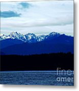 Icy Washington  Metal Print