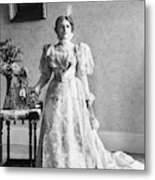 Ida Saxton Mckinley (1847-1907) Metal Print