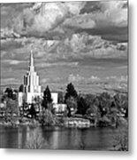 Idaho Falls Temple Metal Print