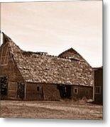 Idaho Falls - Vintage Barn Metal Print