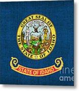 Idaho State Flag Metal Print by Pixel Chimp
