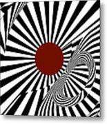 Ideology W/ Red Metal Print