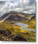 Idwal Lake Snowdonia Metal Print