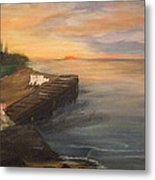 Idyllic Sunset Metal Print