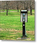 If A Phone Rings In The Forest Metal Print