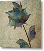 If I Would Be A Flower Metal Print