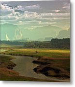 If Only Time Could Sleep Metal Print