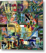 If There Is No Flour There Is No Torah 8 Metal Print
