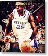 If They Had Played In College Metal Print by Edward Pegues
