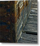 If This Old Trunk Could Talk Metal Print