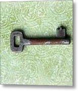 If You Find The Lock You Own Me Metal Print by Lorraine Heath
