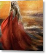 If You Were The Sun, I Would Just Fade Into You... Metal Print