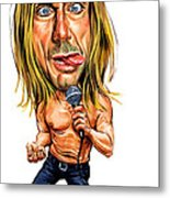 Iggy Pop Metal Print by Art