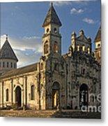 Iglesia De Guadelupe In Granada Nicaragua Metal Print