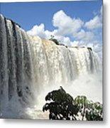 Iguacu Falls Metal Print