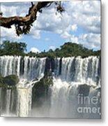 Iguazu Falls Metal Print