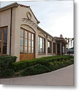 Il Fornaio Italian Restaurant In Coronado California 5d24362 Metal Print by Wingsdomain Art and Photography