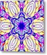 Illuminated Blossom Metal Print