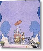 Illustration From A Book Of Fairy Tales Metal Print