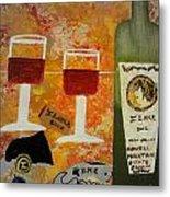 Ilona Wine Metal Print