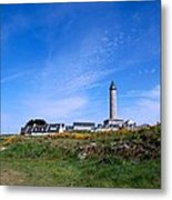 Ils De Batz Lighthouse Metal Print