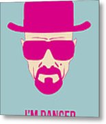 I'm Danger Poster 2 Metal Print