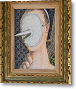 I'm Not A Therapist So I Can Talk About What I Can Talk About - Framed Metal Print