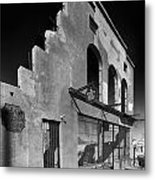 Im Still Standing Jerome Black And White Metal Print