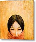 Image Of Tibet Metal Print by Shijun Munns