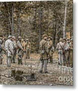 Images Of The Civil War Confederate Soldiers Metal Print