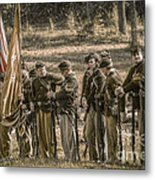 Images Of The Civil War Union Soldiers Metal Print