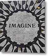 Imagine A World Of Peace Metal Print