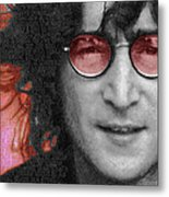 Imagine John Lennon Again Metal Print by Tony Rubino