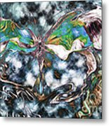 Imagine Number 2 Butterfly Art Metal Print